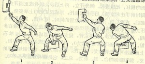 Stone locks were often used by practitioners of Southern Shaolin kung fu to develop strength. Image taken from martialarts.stackexchange.com